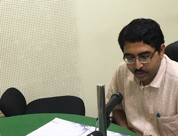 Dr.Siddhartha Mani On AIR
